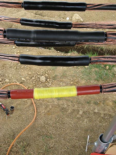 Fältstyrning, isolering, glidteknik, krympteknik