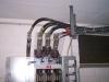 Lågspänningstransformatorbroar kabelplattform