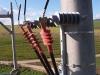 Overhead line - ny mast prestanda